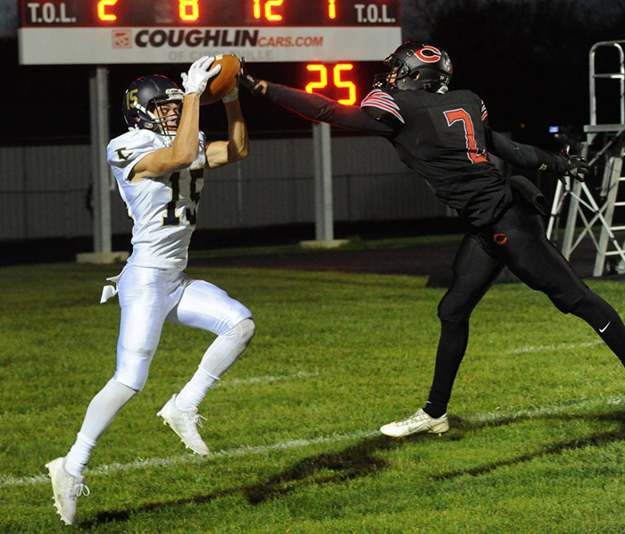 High School Football Teays Valley 42 Circleville 14 October 20, 2017